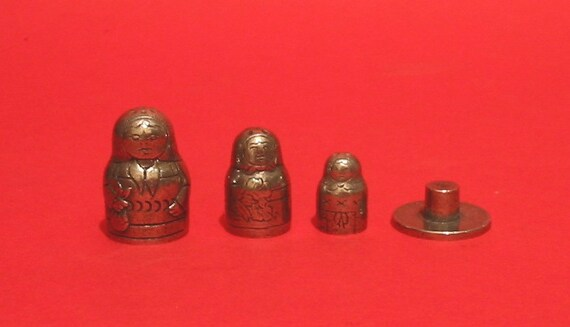 Teacher Russian Doll Collectors Thimble Stacking Dolls Teacher End of Term Gift