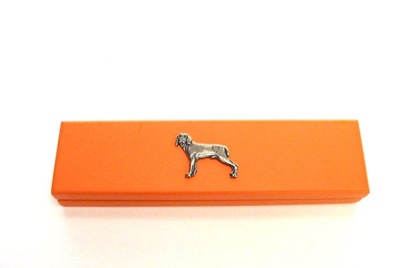 Weimaraner Breed of Dog Themed Pen with Pen Case Perfect Gift