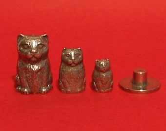 Cat Russian Doll Pewter Thimble - Thimble Collectors Gift - Cat Thimbles - Cat Gifts - Gift for Cat Lover - Cat Mum Gift - Mum Birthday Gift