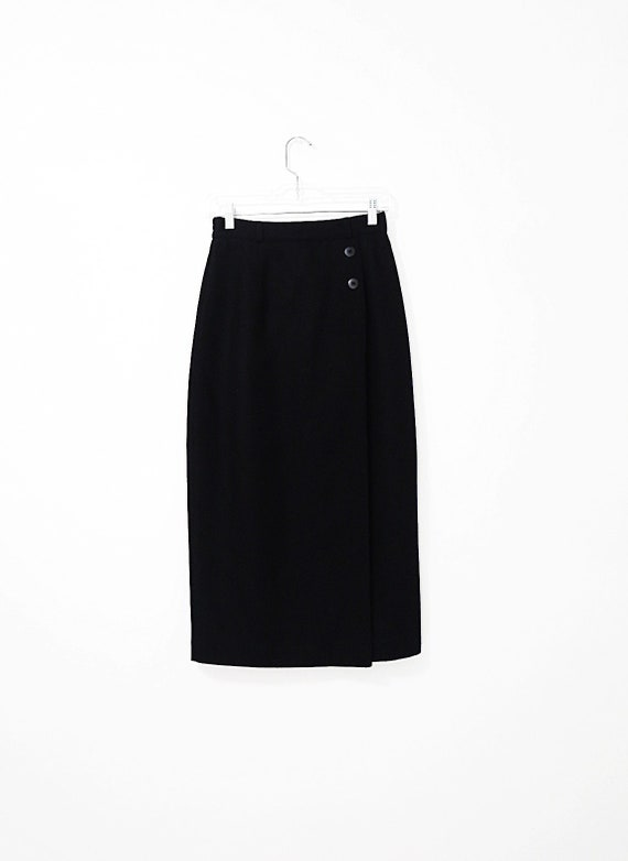 Vintage Wool Pencil Skirt - Norton McNaughton Skir