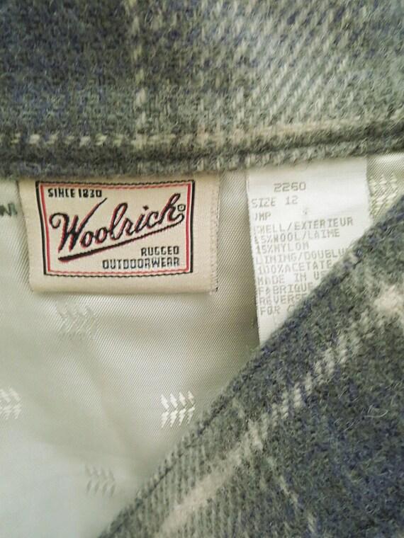 80's Vintage Woolrich Plaid Skirt - Plaid Maxi Sk… - image 6