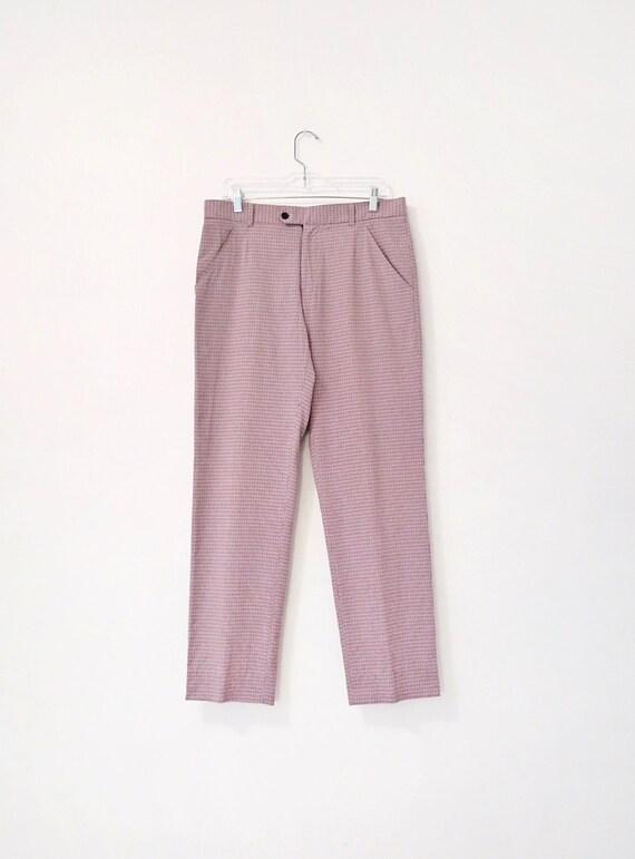 Vintage Dolce & Gabbana Pants - Men's Plaid Trouse