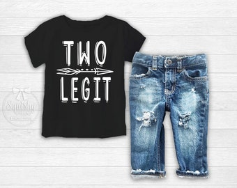 Im 2 Lets Party Boys 2nd Birthday Shirt Two Wild Boy