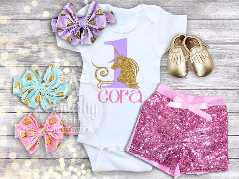 9ec11377966 Unicorn Birthday Shirt