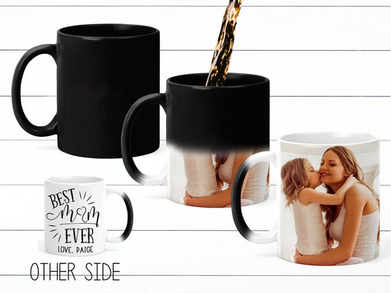 Unique Gift for Mom Color Changing Coffee Mug