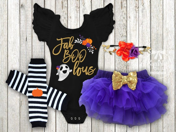Baby Girl Halloween Costume Outfit