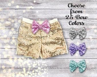 Baby Girl Shorts Gold Girls Shorts Gold Sparkle Shorts Gold Sequin Shorts Girl Clothes Birthday Shorts Toddler Shorts Sizes Newborn-6T