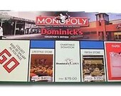 Vintage Dominicks MONOPOLY Game Parts Only FREE SHIP