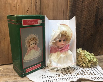 House Of Lloyd Doll Ornament/Sweet Angelique/Christmas Around The World