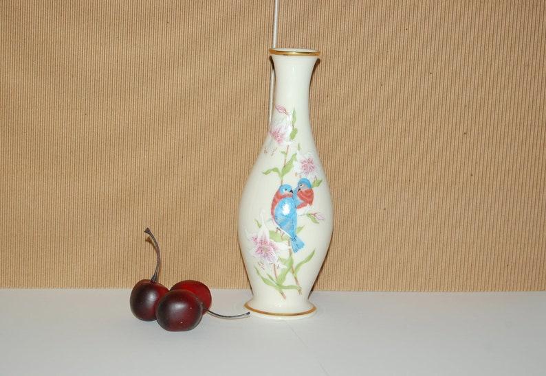 Lenox Eternal Love Vase  Love Birds  Bud Vase  Lenox Porcelain  Bird Floral Design  Limited Edition Lenox Collectibles  Cherished Gift