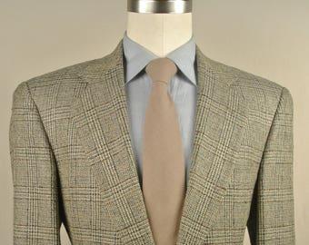 Vito Rufolo Lanificio Di Pray Light Tan/Beige Two Button Sport Coat Men's Size: 40R