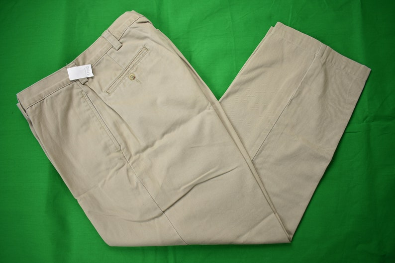 008bcbbd6289 Polo Ralph Lauren Philip Pant Light Khaki 100% Cotton Khakis