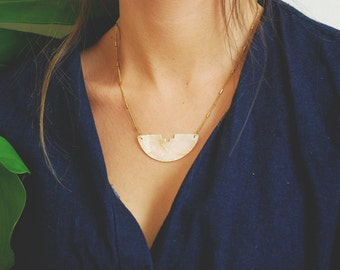 Sirena Shell Necklace - Gold Plated