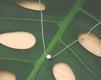 A Glimmer Necklace- Silver
