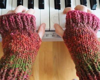 Pattern for Busy Body Child's Fingerless Gloves