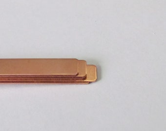 copper strips 14 x 5 girl size cuff blanks Copper Bracelet Cuff Blank -22 G small cuff blanks copper blanks jewelry blanks