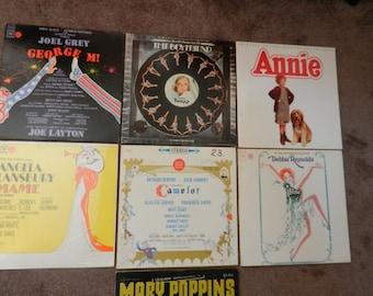 LP Record Albums - Broadway Shows - 33 1/3 rpm - Annie SOLD