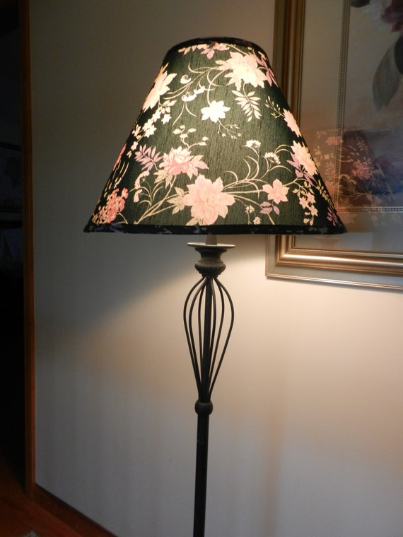 Vintage Floor Lampsfloor Lampswrought Iron Floor Lamp Etsy