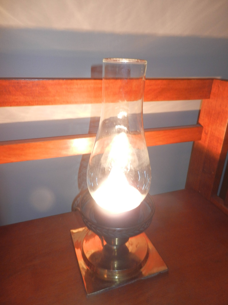 Homemade Lamp,Industrial Component Light with Brass Base
