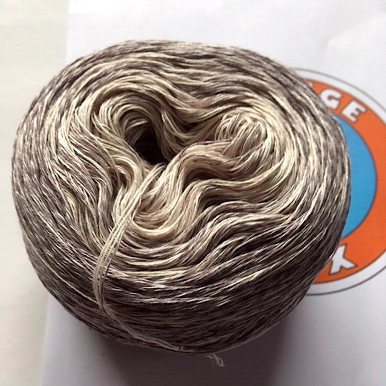 82g/300 m 60% Agro. Treew./40Linen Nude to Taupe image 0