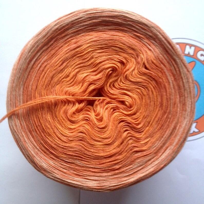 218g/900 m Mako-Baumw./Cashmere Pumpkin Pie image 0
