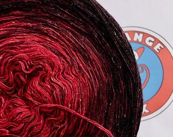 "0.03EUR/meter, 600 m Bourette-Silk/Wool/PA ""Stromboli"""