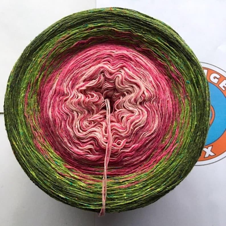 175g/600 m Bourette silk/wool/PA Kampener Dune image 0