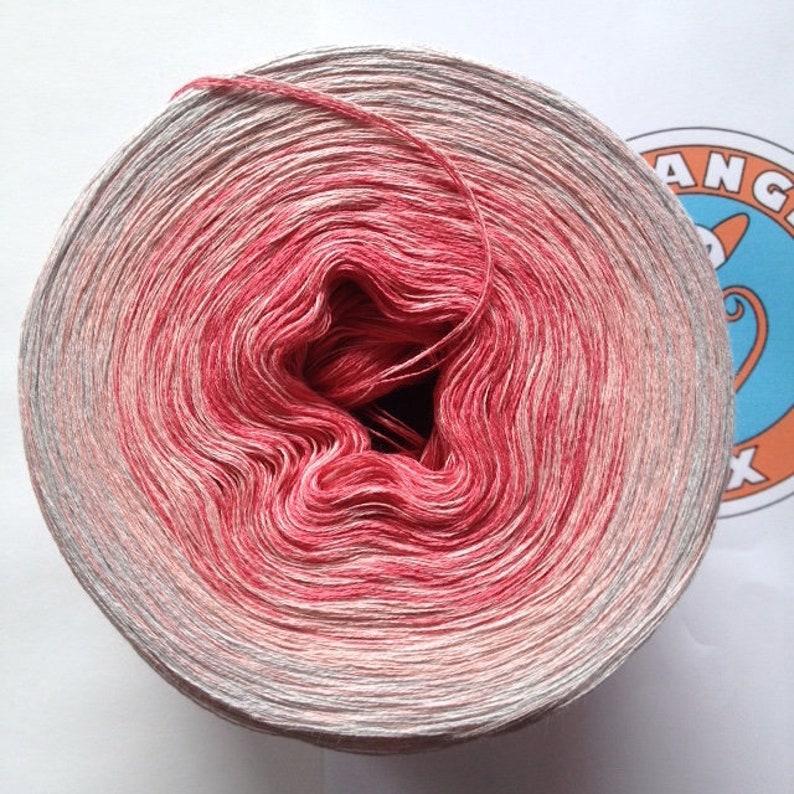 133G/600 m 70% linen/30 BAUMW. Rose Dew image 0