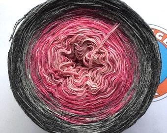 """0.03EUR/meter, 900 m Bourette-Silk/Wool/PA """"Bringfriede Wieting"""""""