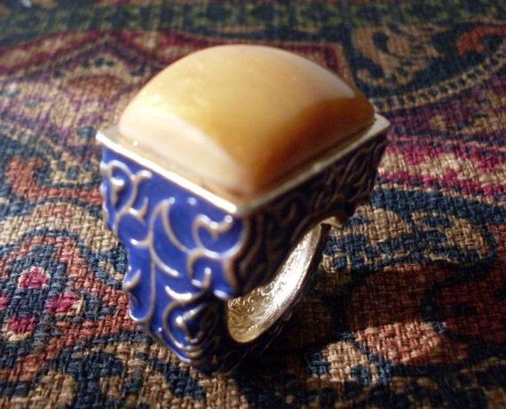 Jewelry  Chunky Gypsy Bohemian Ring  Newburystreet