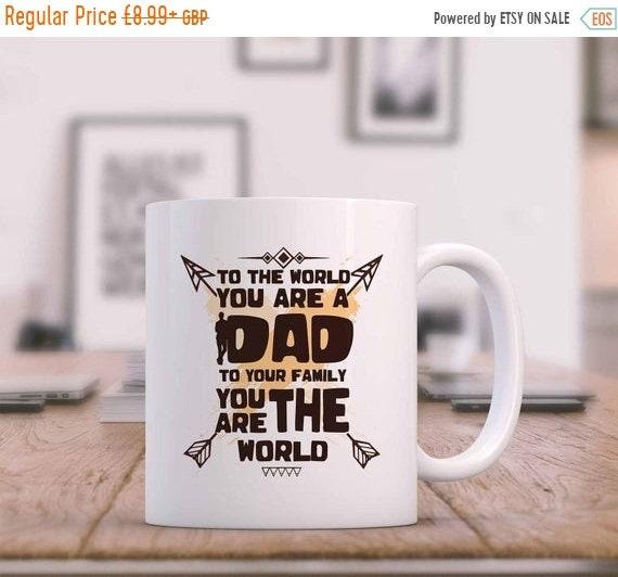 Daddy Youre My Superhero Mug Fathers Day Dad Christmas Birthday Gift For Him Daddy Present 10OZ Tea Coffee Cup Mug