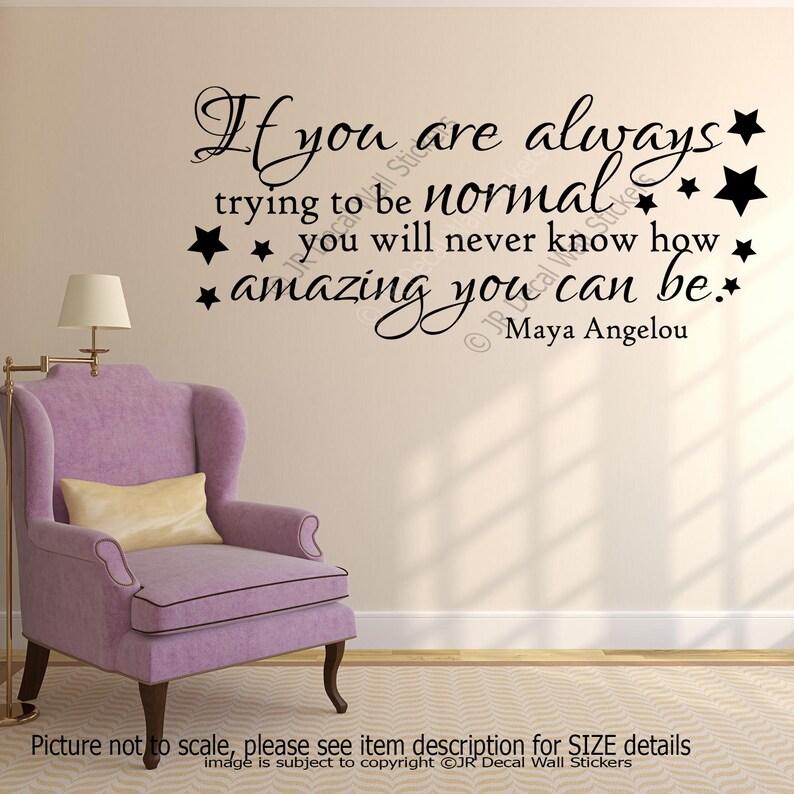 Maya Angelou Custom Quote Print Home Decor Wall Art Custom Quote Wall Art You know how amazing you can Be Wall Art Print Custom Quote
