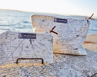 Map makeup bag etsy world map waterproof makeup and travel bag mercury unisex line gumiabroncs Image collections