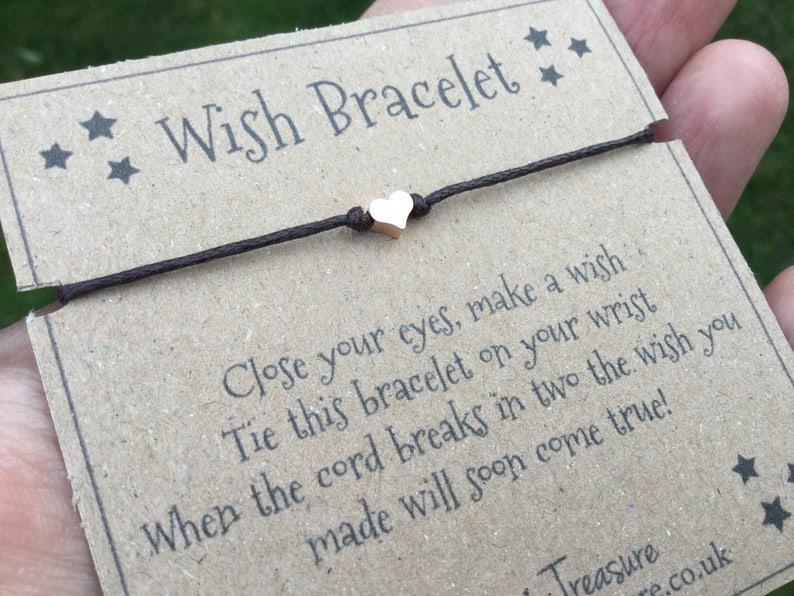 wishing bracelet wish bracelets make a wish Wish bracelet dainty bracelet minimalist bracelet simple bracelet dainty bracelets