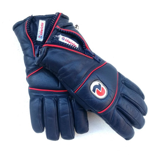 Vintage Invicta ski gloves, 1980s size 8