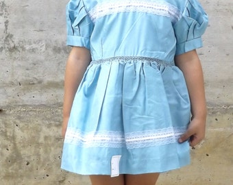 Ceremony dress (3 years) made in italy, 1960s