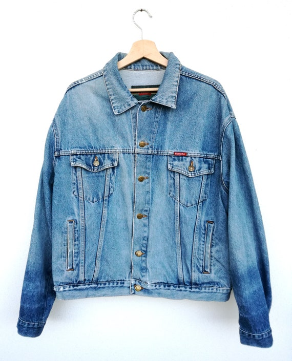 cheaper 40169 7706a Vintage Carrera jeans jacket made in italy size L, 1980s