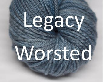 Legacy Worsted in your choice of colors