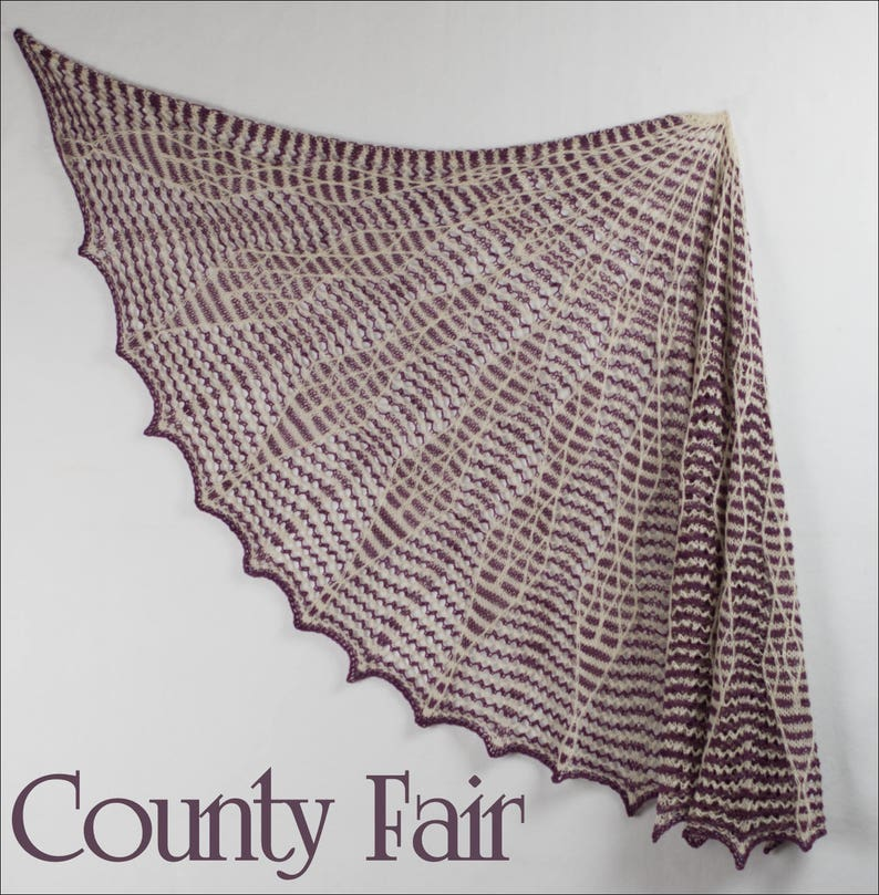 County Fair MKAL Yarn Kit in your choice of sizes and colors image 0