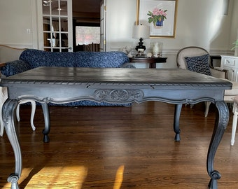 Antique Dining Table Etsy