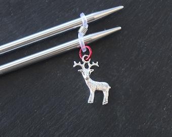 Deer Knitting Needle Minder or needle hugger.