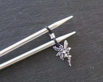 Fairy Knitting Needle Minder or needle hugger.