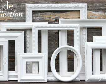 Shabby Chic Picture Frames Etsy