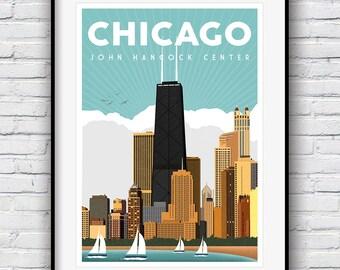 80504025c91 Chicago wall art