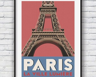 Wall Art, Paris Print, Gift for Women, Wall Decor, Best Selling Items, Paris Wall Art, Travel Poster, Eiffel Tower, Best Friend Gift, Poster