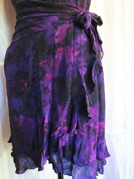 Vintage Ungaro Paris Silk Halter Dress - image 3