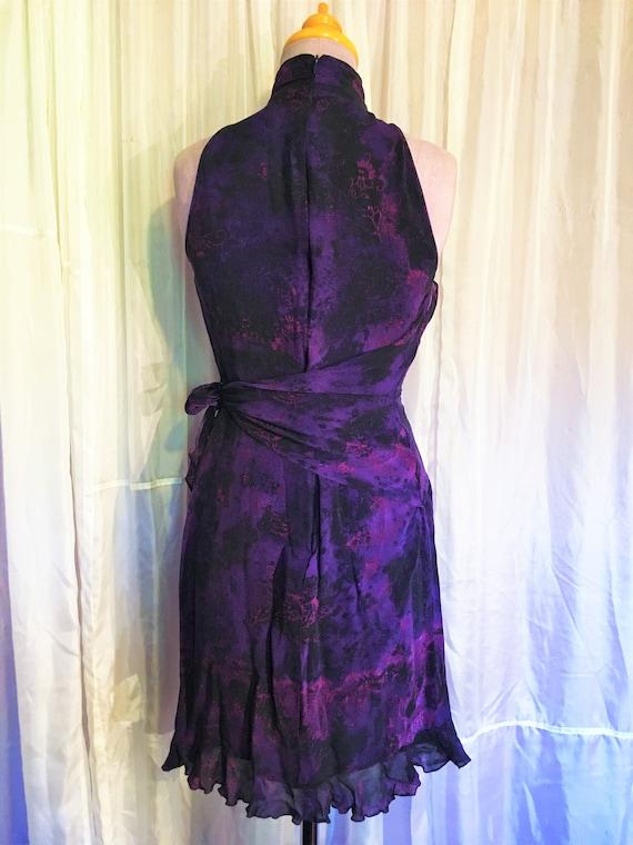 Vintage Ungaro Paris Silk Halter Dress - image 7