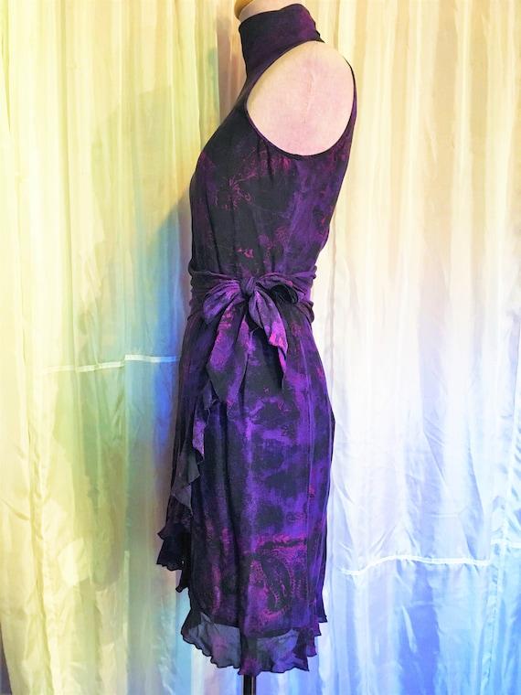 Vintage Ungaro Paris Silk Halter Dress - image 6