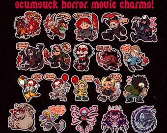 Horror n' Slasher Movie Acrylic Charms