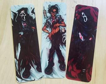 Scream: Billy Loomis Ghost Dakimakura Bookmarks